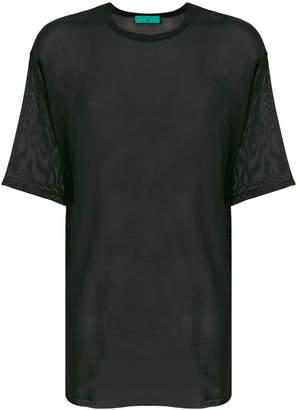 Paura Florian sheer T-shirt