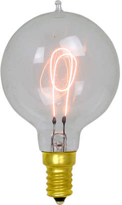 Rejuvenation 15W Carbon-filament Small Globe Candelabra Bulb