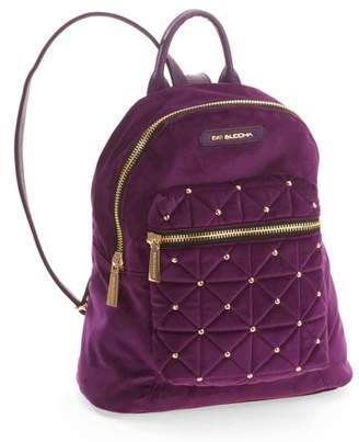 Big Buddha Women's Quilted Velvet Backpack