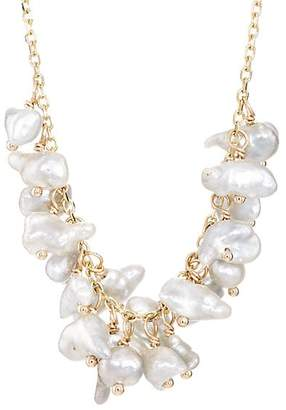 Feathered Soul Women's #Clouds Necklace - Gold