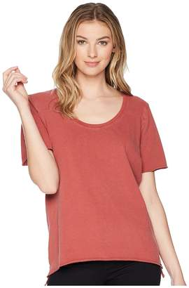 Hurley Wash Varsity Short Sleeve Tee Women's T Shirt
