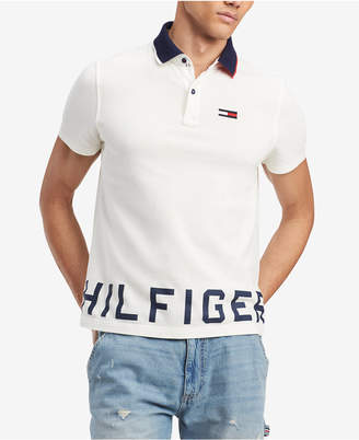 Tommy Hilfiger Men's Contrast Logo Polo, Created for Macy's