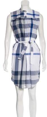 Burberry Exploded Check Mini Dress