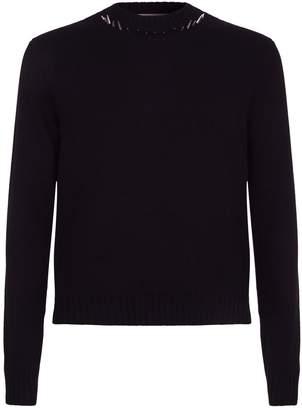 Valentino Spike Neckline Sweater