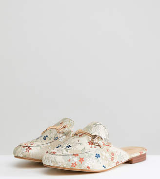Raid Wide Fit RAID Wide Fit Nancy Jacquard Mules