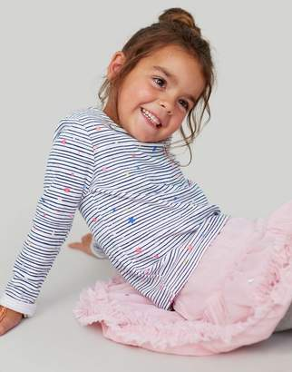 Joules Harbour print JERSEY TOP 1-6yr