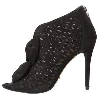 Schutz Black Suede Ankle boots