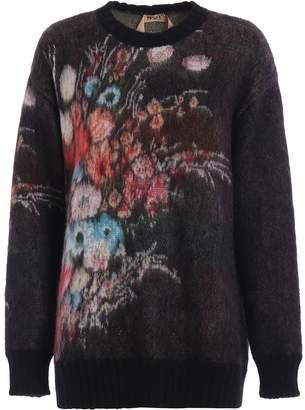 N°21 N.21 Floral Motif Sweater