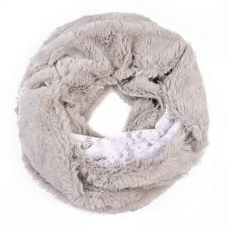 Riah Fashion Faux Fur Infinity Scarf