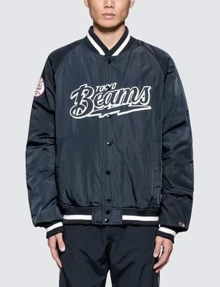 Champion Reverse Weave Beams x Champion Bomber Jacket