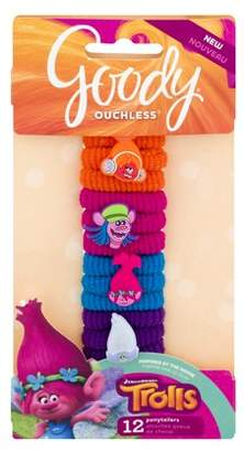Goody Dreamworks Trolls Ouchless Ponytailers - 12 CT12.0 CT