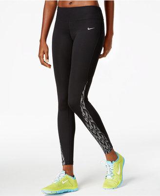 Nike Racer Flash Dri-FIT Running Leggings $75 thestylecure.com
