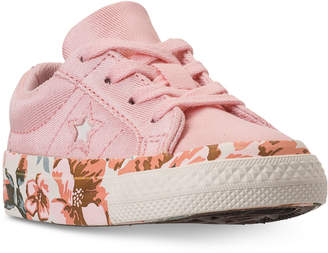 Converse Toddler Girls' One Star Casual Sneakers from Finish Line