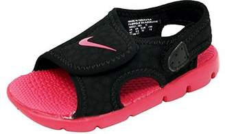 0bb53e271d85 Nike Kid s Sunray Adjust 4 (GS PS) Sandals Black Pink