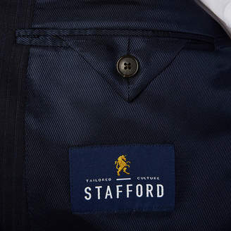 STAFFORD Stafford Travel Navy Twill Suit Jacket - Big & Tall