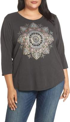 Lucky Brand Medallion Foil Top