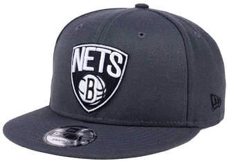New Era Brooklyn Nets Solid Alternate 9FIFTY Snapback Cap