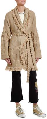 Alanui Icon Oversize Fisherman Cardigan