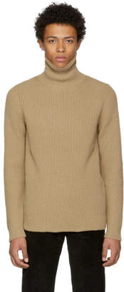 A.P.C. Tan Malcolm Turtleneck