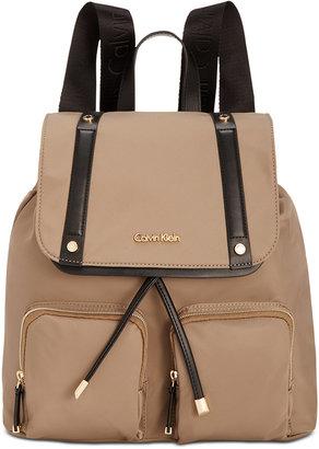 Calvin Klein Teodora Cargo Backpack $178 thestylecure.com