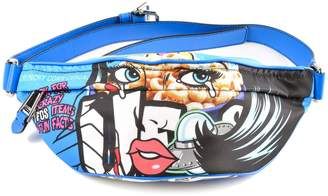 Moschino Comic Print Belt Bag