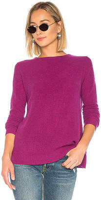 Autumn Cashmere Reversible Crossover Crew