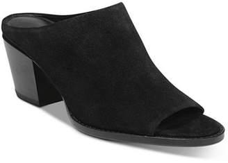 Vince Women's Vedra Block Heel Mule Sandals