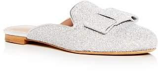 Tabitha Simmons Women's Masha Glitter Bow Mules