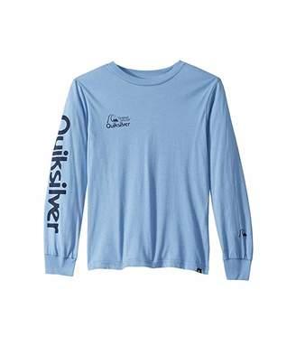 Quiksilver Bouncing Heart Long Sleeve T-Shirt (Big Kids)