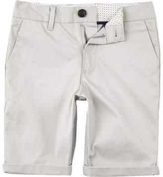 River Island Boys grey Dylan slim fit chino shorts