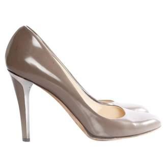 Jimmy Choo Grey Patent leather Heels