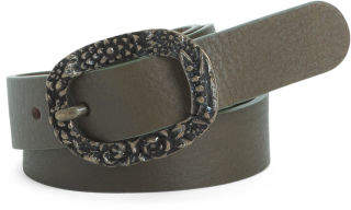 Women's Made In Italy Antique Leather Belt