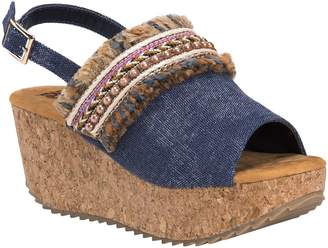 Muk Luks Wedge Sandals - Marion