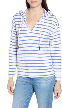 Vineyard Vines Stripe Popover Hooded Sweatshirt
