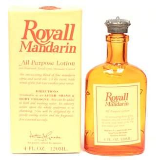 Royall Fragrances Royall Mandarin Orange Of Bermuda By For Men. All Purpose Lotion 4.0 Oz