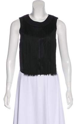 Timo Weiland Fringe-Accented Sleeveless Top