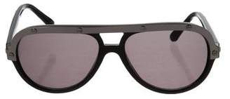 Lanvin Shield Tinted Sunglasses