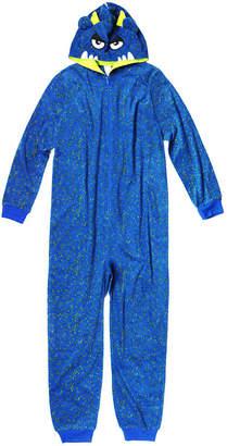 Arizona Boys Husky Character Blanket Sleeper Long Sleeve One Piece Pajama