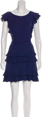 Marc by Marc Jacobs Tiered Ruffle Mini Dress