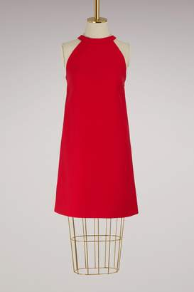 Miu Miu Crossed back dress