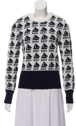 Tory Burch Ahoy Crew Neck Sweater