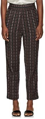 Ace&Jig Women's Gatsby Geometric-Pattern Cotton Pants