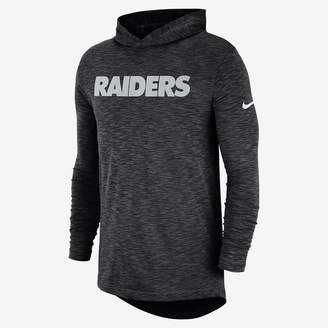 Nike Dri-FIT On-Field (NFL Raiders) Men's Hooded Long Sleeve Top