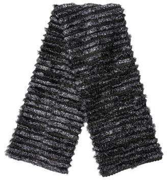 Marc Jacobs Tinsel Knit Scarf