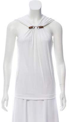 Gucci Sleeveless Cinched Top