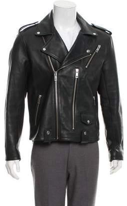 Joe's Jeans Leather Moto Jacket w/ Tags