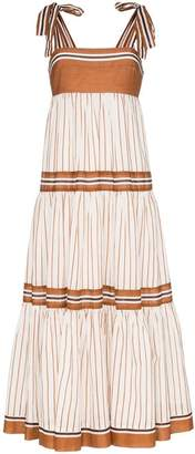 Zimmermann Veneto tiered maxi dress