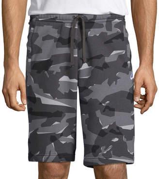 Nike Mens Camo Fleece Short