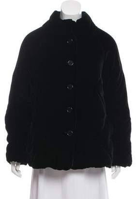 Aspesi Quilted Velvet Jacket