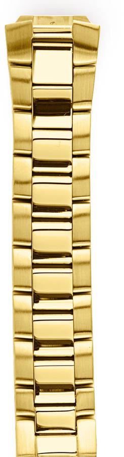 Philip Stein Teslar Gold-Plated Bracelet, 20mm